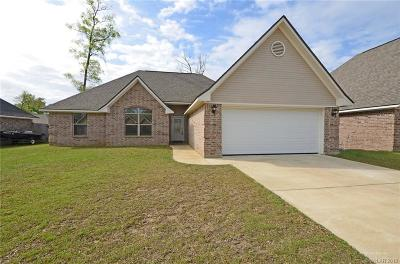 Haughton Single Family Home For Sale: 229 Southern Creek Circle