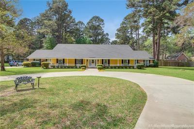 Shreveport Single Family Home For Sale: 10206 Ellerbe Road