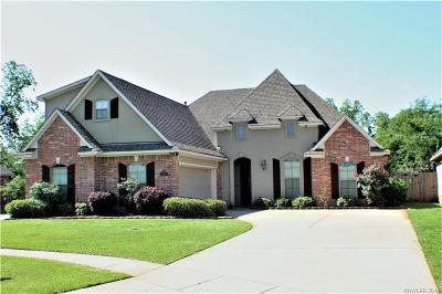 Bossier City Single Family Home For Sale: 575 Chinquipin Drive