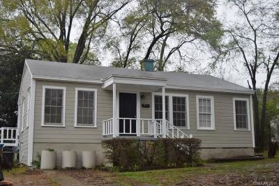 Minden Single Family Home For Sale: 618 Police Street