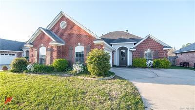 Bossier City Single Family Home For Sale: 6232 Hollyhock Lane