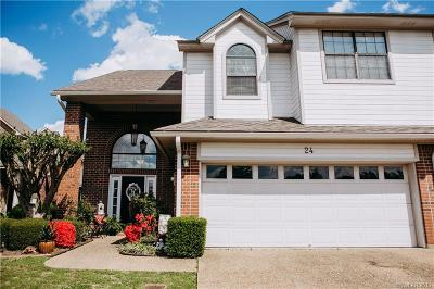 Bossier City Condo/Townhouse For Sale: 24 Meadow Creek Drive