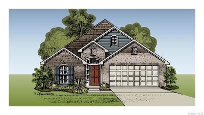 Bossier City Single Family Home Contingent: 3439 Grand Cane Lane