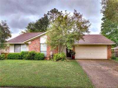 Golden Meadows Single Family Home For Sale: 5418 Pampus Lane