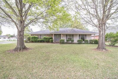 Bossier City Single Family Home For Sale: 6244 E Oxbow
