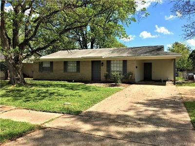 Bossier City LA Single Family Home For Sale: $119,900
