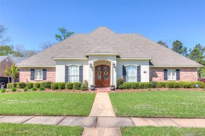 Bossier City Single Family Home For Sale: 5747 Lakeside Drive