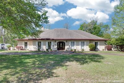 Bossier City Single Family Home For Sale: 5420 Coach Road