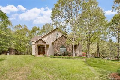 Minden Single Family Home For Sale: 1860 Fincher Creek Road