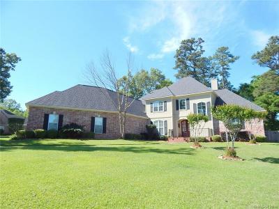 Shreveport Single Family Home For Sale: 1002 W Pointe Circle