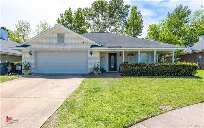 Bossier City Single Family Home For Sale: 6000 Summerville