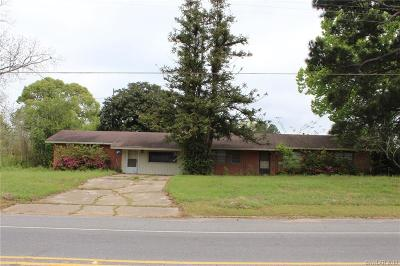 Ringgold LA Single Family Home For Sale: $60,000