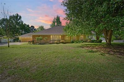 Benton Single Family Home For Sale: 109 Bay Hills Drive