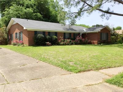Broadmoor Terrace Single Family Home For Sale: 1836 Bryan Place