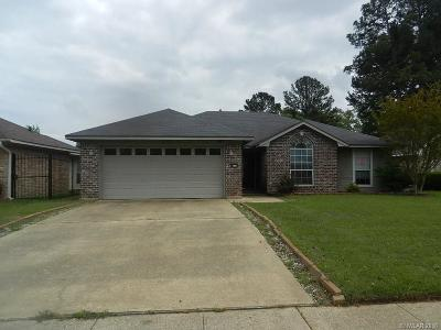 Single Family Home For Sale: 8217 Wild Briar Drive