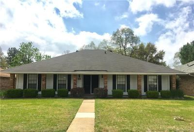 Bossier City Single Family Home For Sale: 540 Northpark Drive