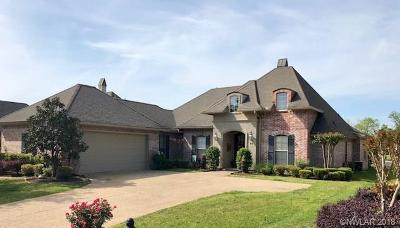Bossier City Single Family Home For Sale: 66 Turnbury Drive