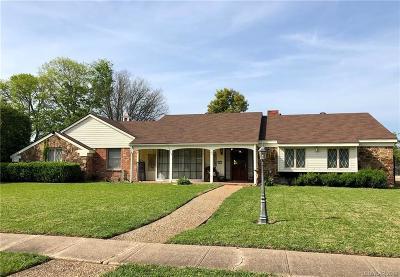 Bossier City Single Family Home For Sale: 2311 Tilman Drive