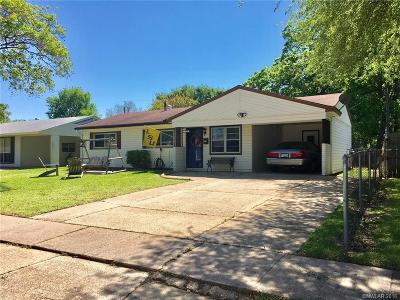 Bossier City Single Family Home For Sale: 1719 Caney Lake Drive