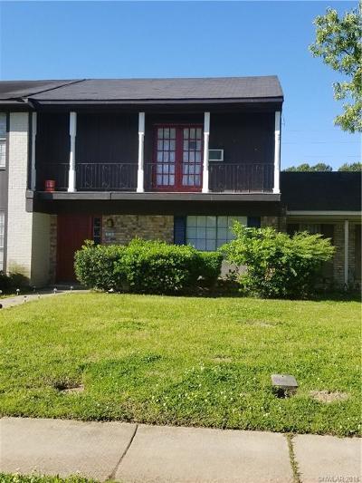 Caddo Parish Condo/Townhouse For Sale: 970 Whispering Lake Drive