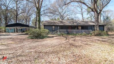 Caddo Parish Single Family Home For Sale: 6856 Alvin York Lane