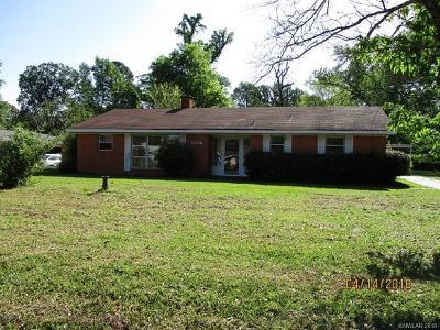 Caddo Parish Single Family Home For Sale: 3114 Timberlane Drive