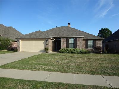 Bossier City Single Family Home For Sale: 2162 Sweet Bay