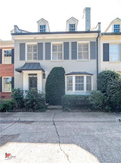 Shreveport Condo/Townhouse For Sale: 8 Dudley Square