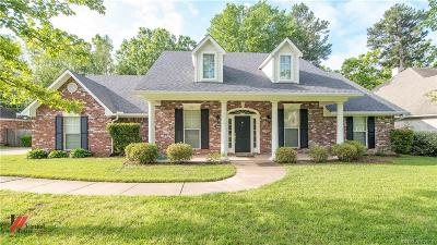 Benton Single Family Home For Sale: 5021 Willow Chase Drive