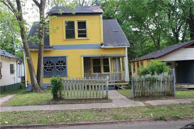 Shreveport Single Family Home For Sale: 3155 Frederick Street