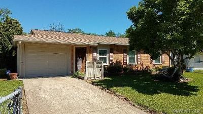 Bossier City Single Family Home For Sale: 4603 Birdwell Lane