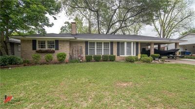 Shreveport Single Family Home For Sale: 2039 Shadywood Lane