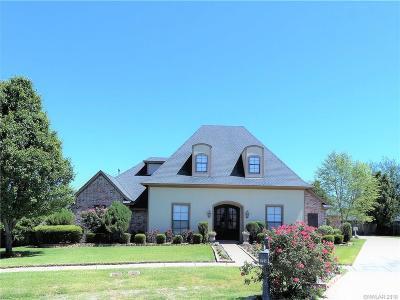 Bossier City LA Single Family Home For Sale: $475,000