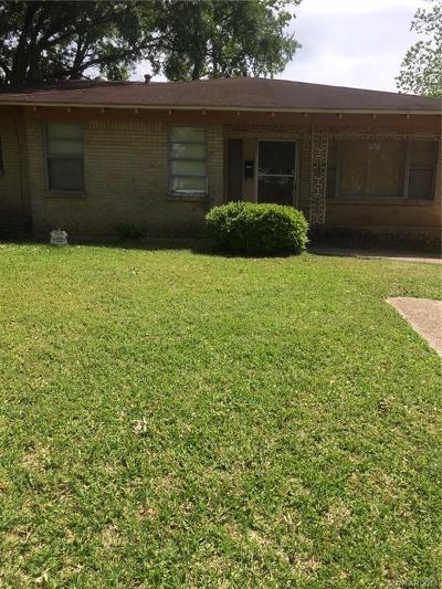 Shreveport Single Family Home For Sale: 3735 Merwin Street