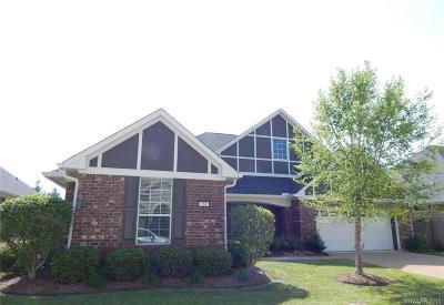 Shreveport Single Family Home For Sale: 261 Eagle Bend Way
