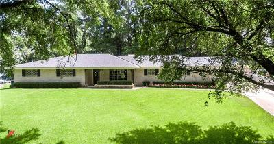Shreveport Single Family Home For Sale: 1725 Oak Knoll Drive