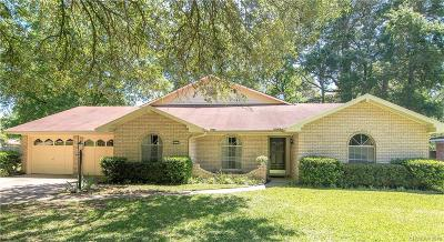 Shreveport Single Family Home For Sale: 9525 Pitch Pine Drive
