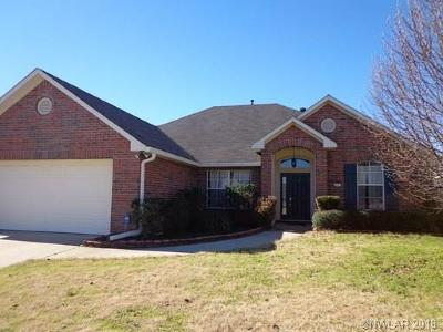 Bossier City Single Family Home For Sale: 511 Columbia