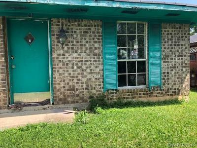 Shreveport Single Family Home For Sale: 2119 Jones Mabry Road