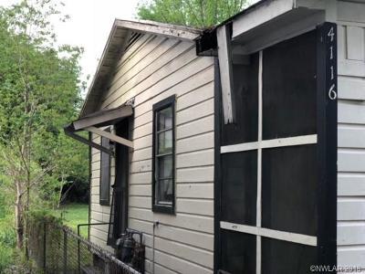 Shreveport Single Family Home For Sale: 4116 Joe Louis Street