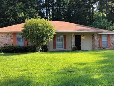 Shreveport Single Family Home For Sale: 3500 Woodleaf Drive