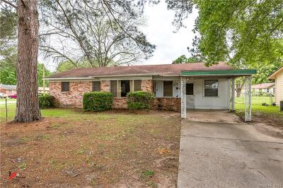 Shreveport Single Family Home For Sale: 7508 W Canal Boulevard