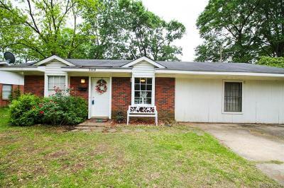 Shreveport Single Family Home For Sale: 1119 Cloverdale Drive