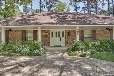 Shreveport Single Family Home For Sale: 703 Emberwood Circle