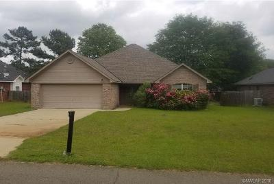 Haughton Single Family Home For Sale: 112 Foxchase Drive