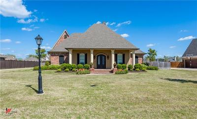 Benton Single Family Home For Sale: 334 Tanyard Trace