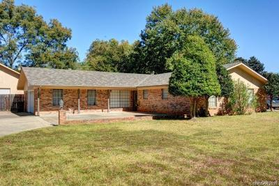 Bossier City Single Family Home For Sale: 2309 Brownlee Road