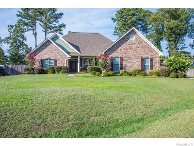 Haughton Single Family Home For Sale: 1909 Sparrow Ridge Circle