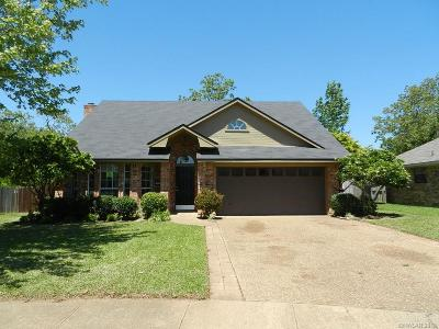 Bossier City LA Single Family Home For Sale: $159,500