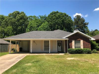 Haughton Single Family Home For Sale: 4574 Pine Crest Drive